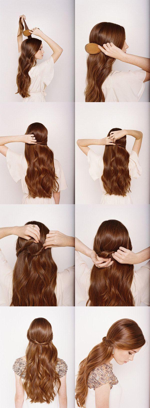 Что делать с длинными волосами фото