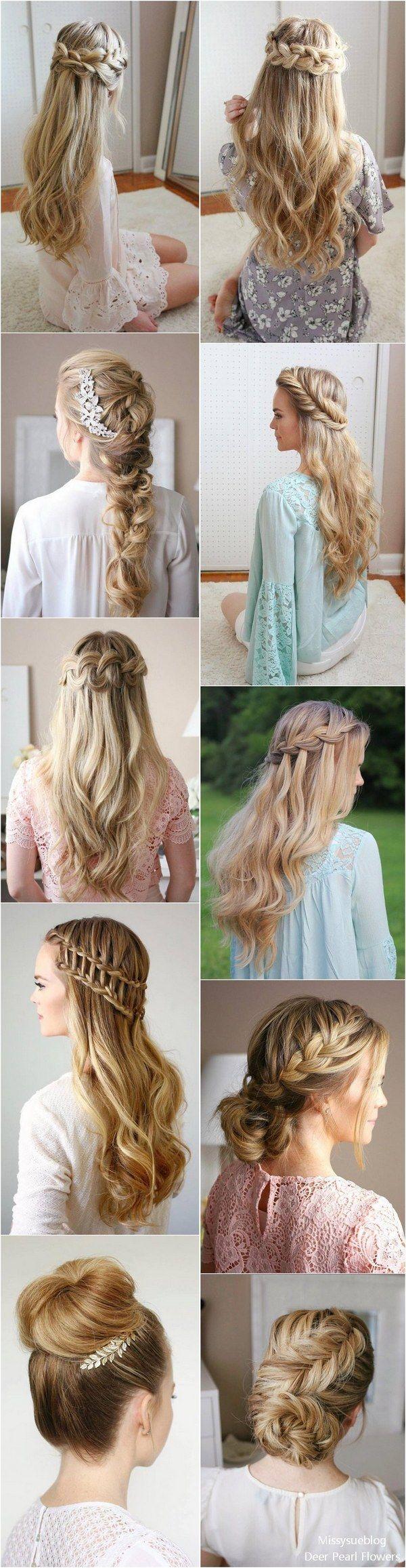 Long Wedding & Prom Hairstyles from Missysueblog ( missysue.com ) / www.deerpear...