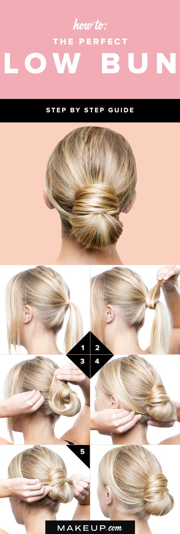 If you want an easy hairstyle that's perfect for long and medium length hair...