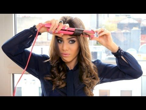 Do you want to know how to  curl your hair with a straightener? This  is very ...