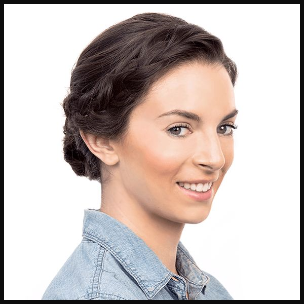If you're not sure what to do with your hair and are short on time, a braid ...