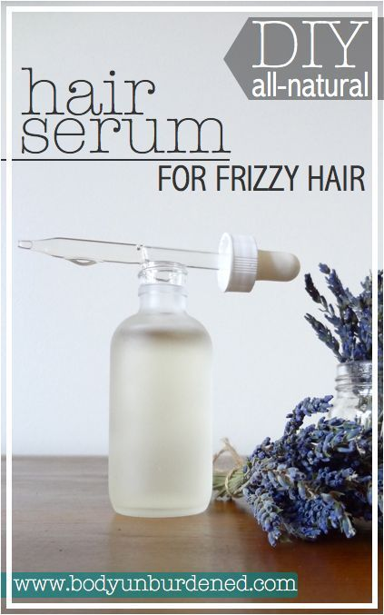 Need a little help taming a frizzy mane? This DIY all-natural hair serum's g...