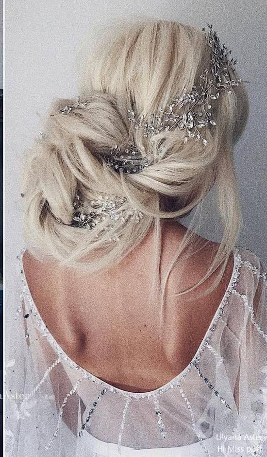 Ulyana Aster Long Wedding Hairstyles