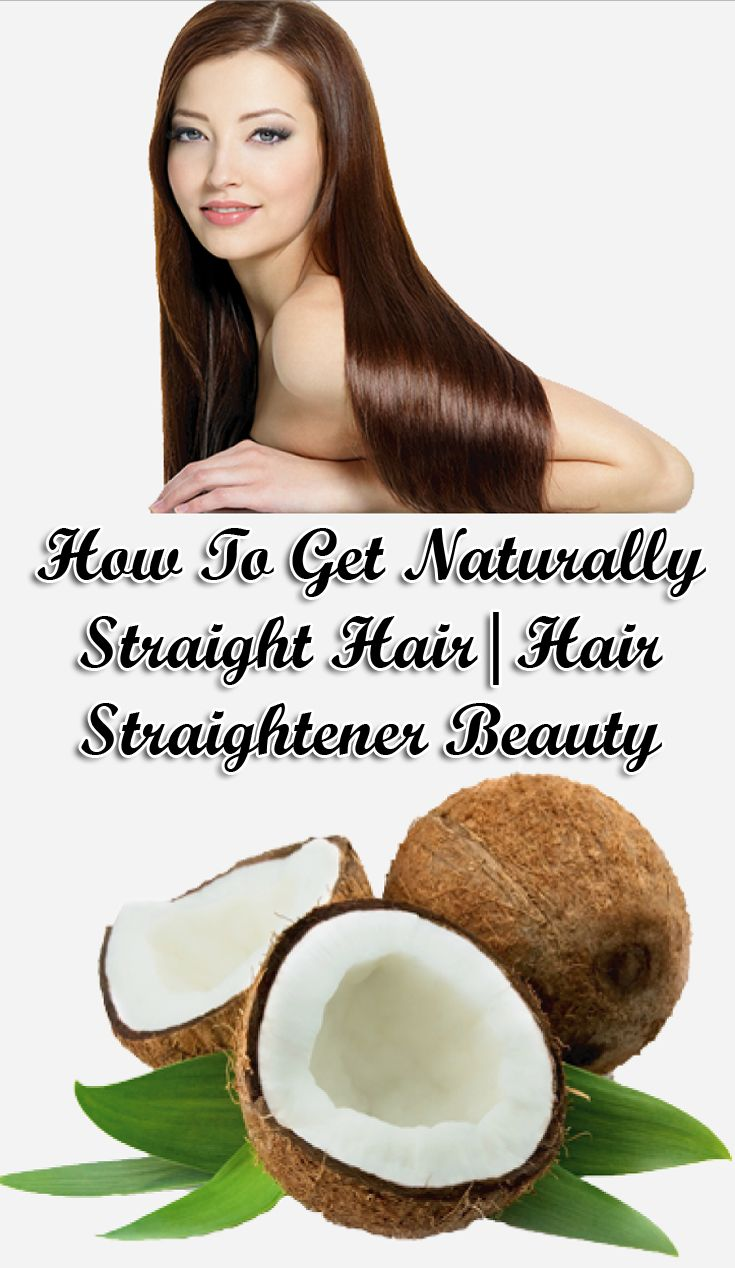 tend to run to parlor for hair straightening. However, it is quite harmful to st...