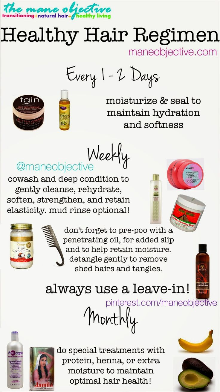 If you're in need of a healthy hair regimen for 2015, start here: www.maneobject...