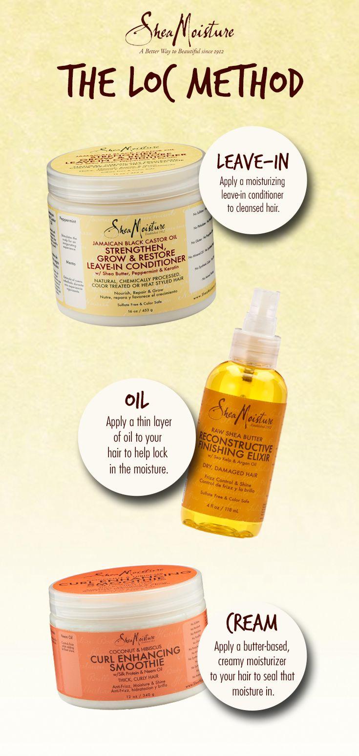 Hair Care Ideas Using Sheamoisture For The Loc Method Beauty