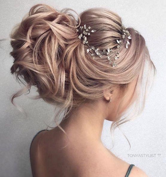 Featured Hairstyle: courtesy of tonyastylist (Tonya Pushkareva); wedding hair st...