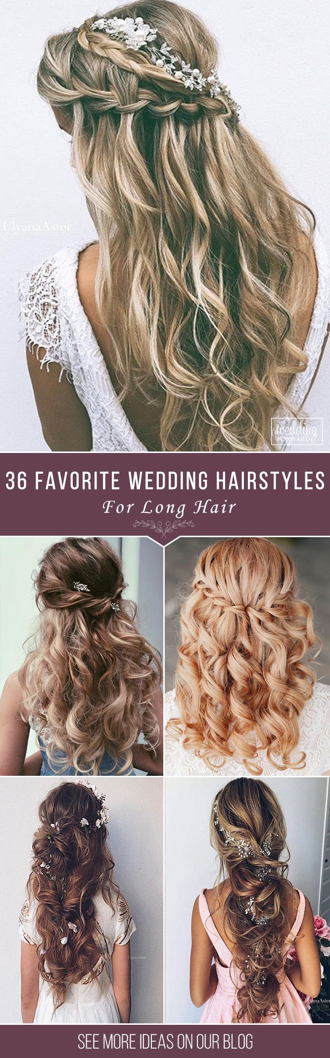 36 Our Favorite Wedding Hairstyles For Long Hair ❤ We make a list our favorite...
