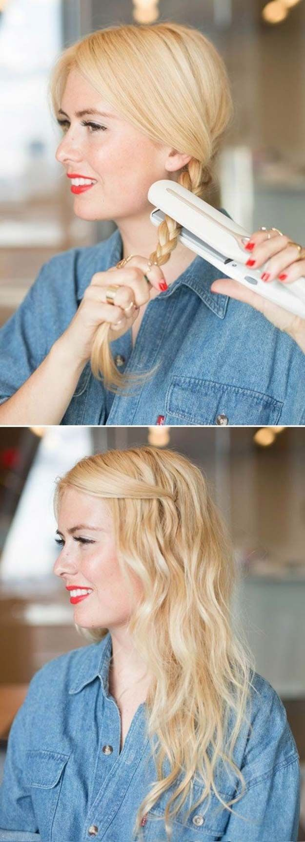 Cool and Easy DIY Hairstyles - 5 Minute Office Friendly Hairstyle - Quick and Ea...