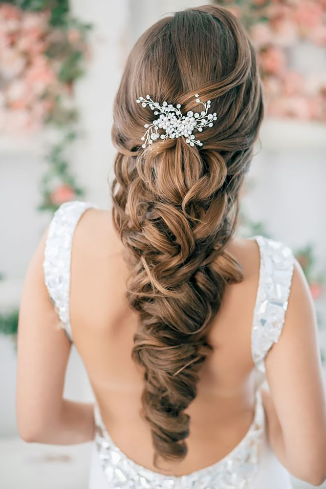 18 Lovely Wedding Hair Accessory Ideas & Tips ❤ See more: www.weddingforwar......
