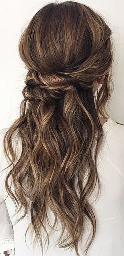30 Our Favorite Wedding Hairstyles For Long Hair ❤ See more: www.weddingforwar...