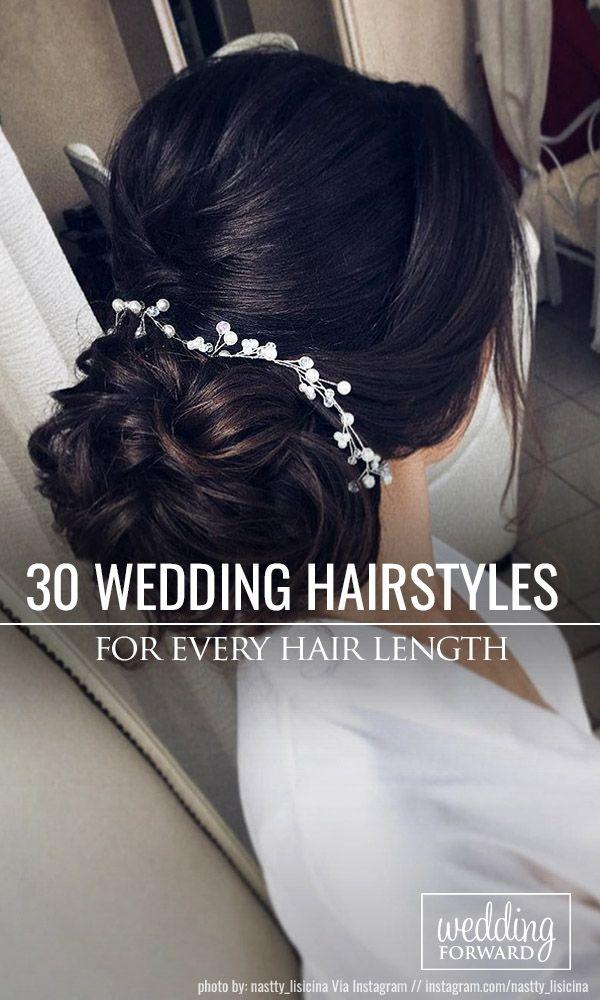 30 Stunning Wedding Hairstyles ❤ Creation of wedding hairstyle needs preparati...
