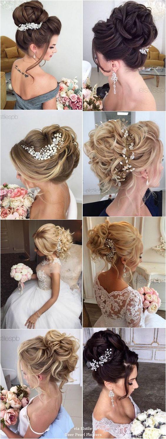 40 Best Wedding Hairstyles For Long Hair / www.deerpearlflow...