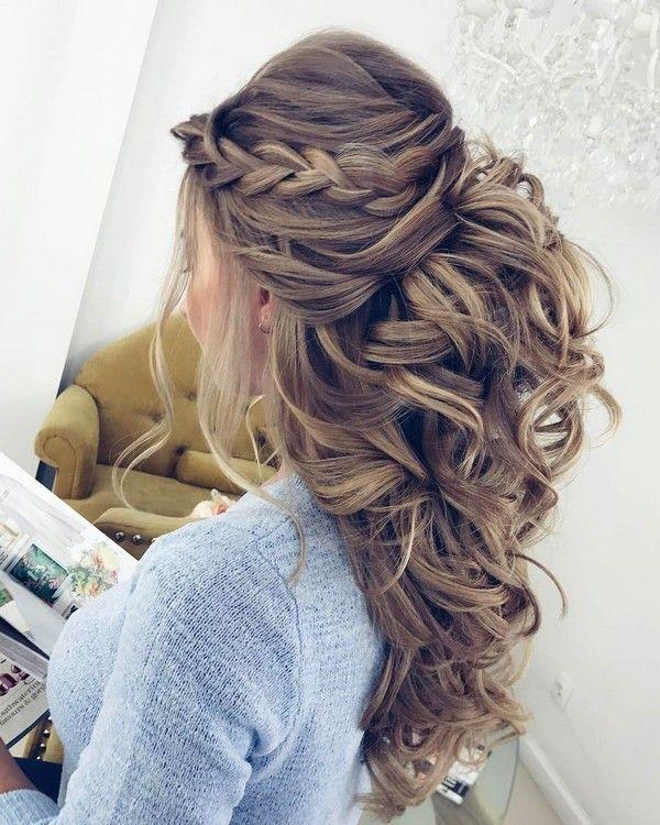 Elstile Long Wedding Hairstyle Inspiration � www.deerpearlflow...