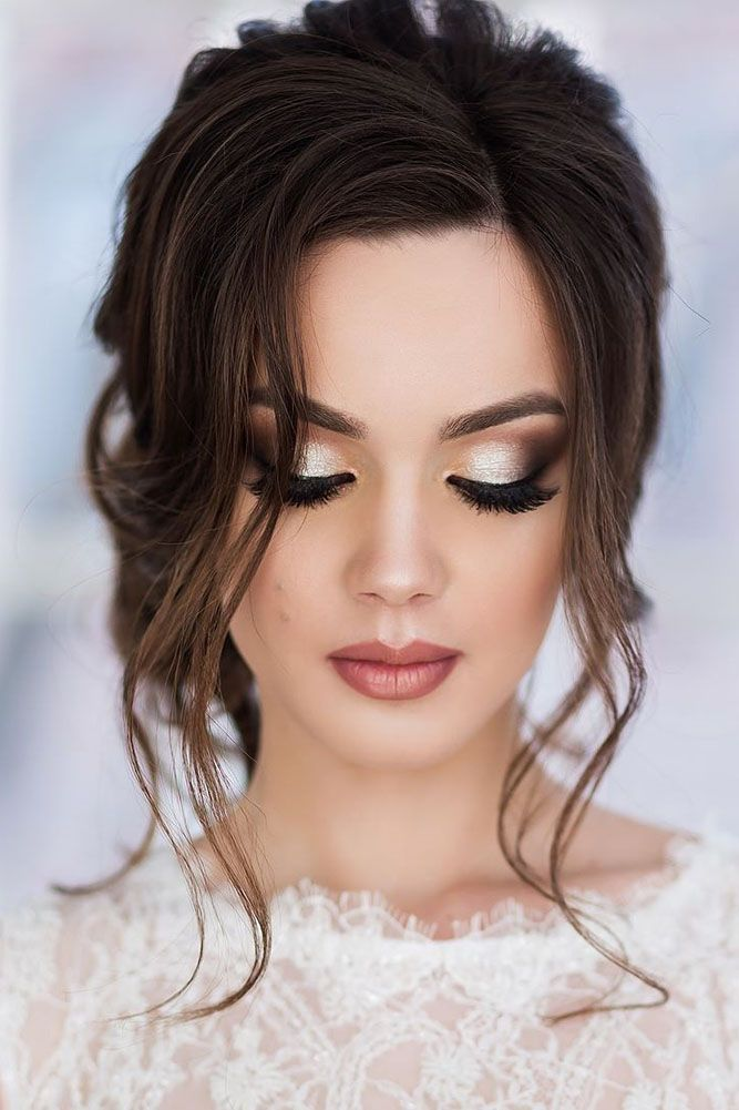 30 Stylish Wedding Hair And Makeup Ideas ❤ If you're looking for stylish weddi...