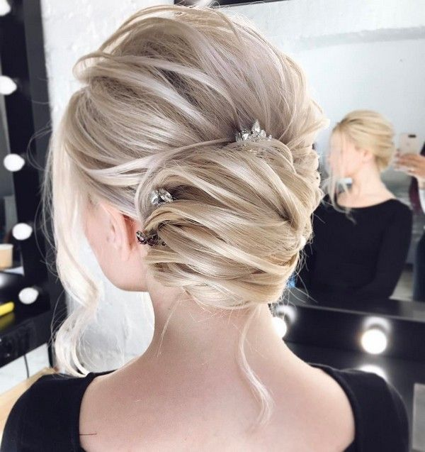 Long wedding updo hairstyles from tonyastylist #weddingupdos #weddinghairstyles ...