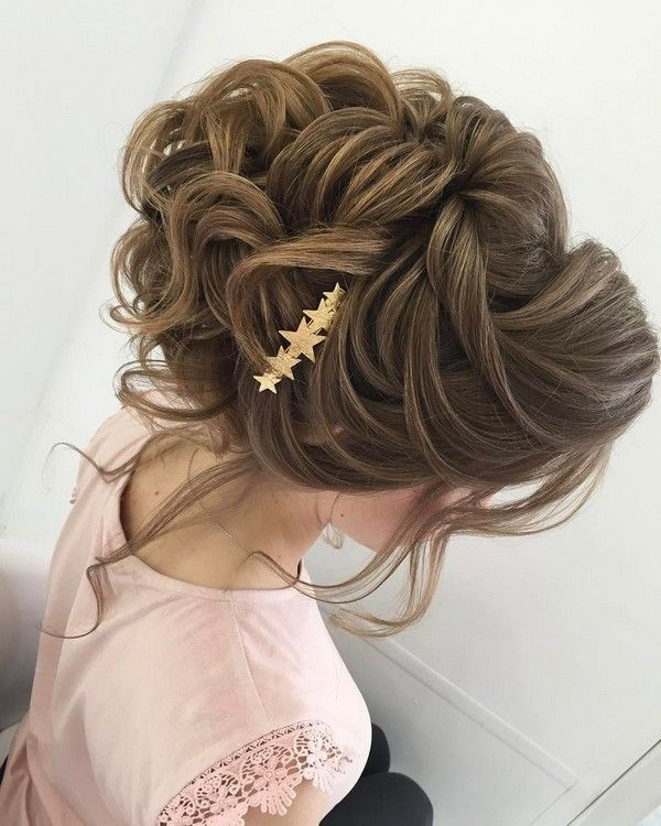 Long wedding updos and hairstyles from Elstile  #wedding #bridal #weddinghairtst...