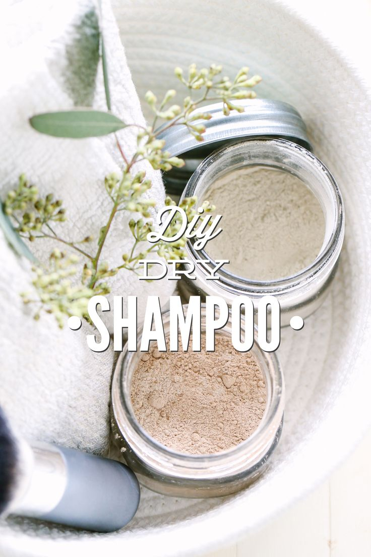 DIY Dry Shampoo (For Dark and Light Hair Colors)