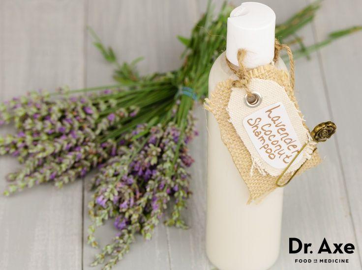 Homemade Coconut Lavender Shampoo