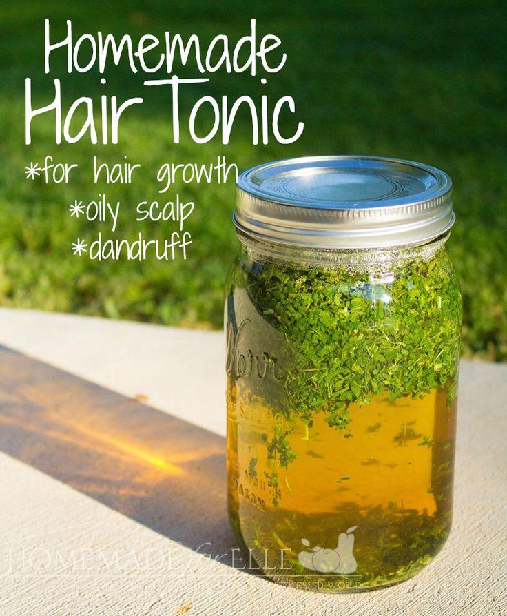 Diy Hair Care Homemade Hair Tonic Use This Simple Recipe