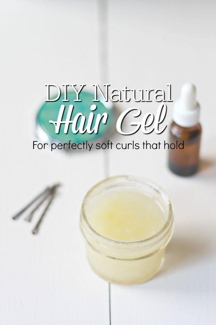 This DIY Natural Hair Gel may be my favorite homemade natural beauty product of ...