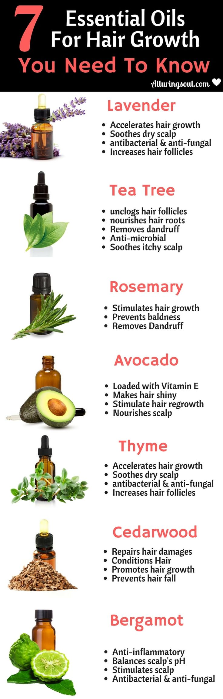 Apply these essential oils for hair growth, prevent hair fall and get shiny and ...