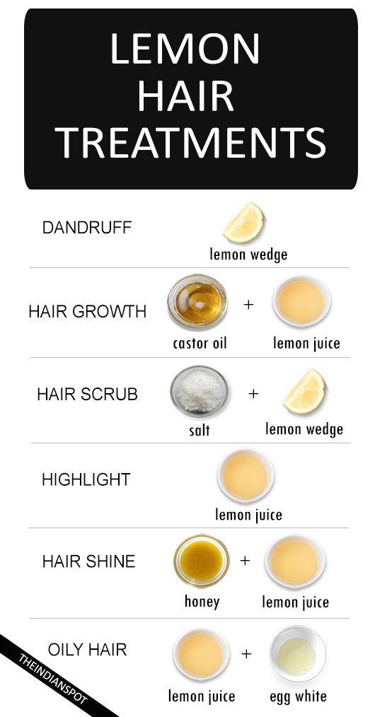 BEST NATURAL LEMON HAIR TREATMENTS FOR EVERY HAIR PROBLEM