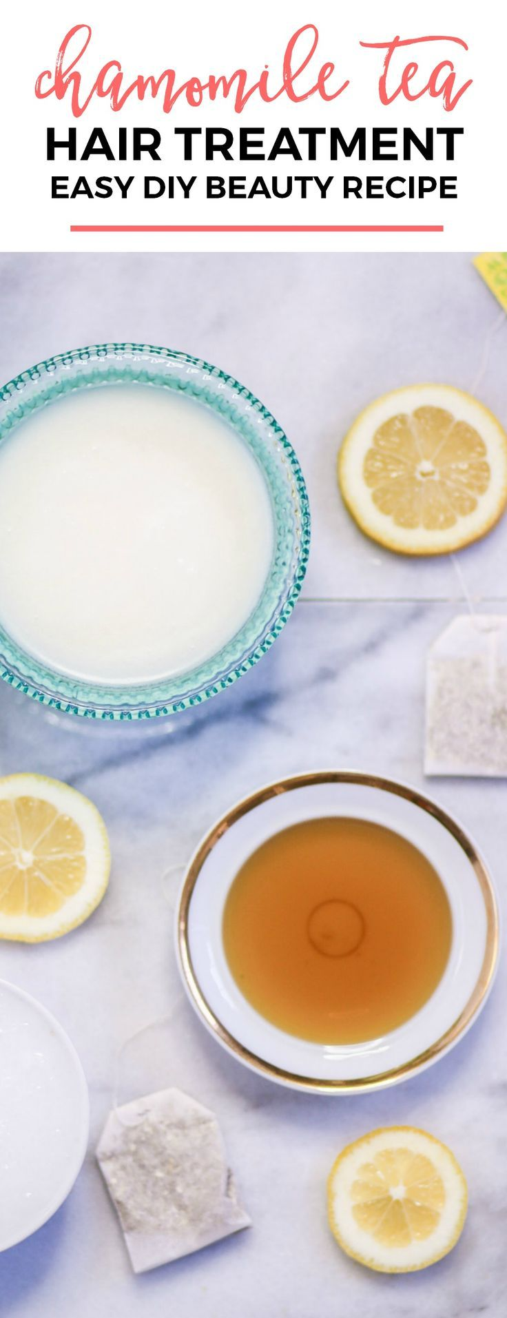 DIY chamomile tea hair treatment | Looking for an easy way to bring out your hai...
