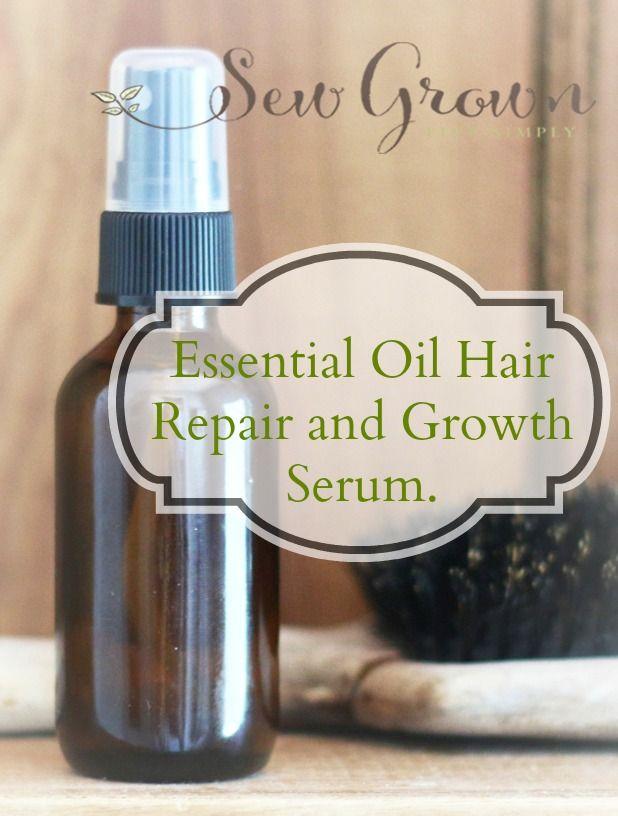 Diy Hair Care Tips Essential Oil Hair Repair And Growth Serum Recipe Sew Grown Beauty Haircut Home Of Hairstyle Ideas Inspiration Hair Colours Haircuts Trends
