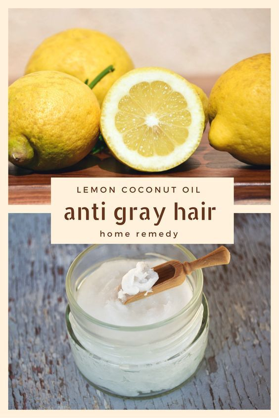 Lemon Coconut Oil Anti Gray Hair Home Remedy - Have gray hair? You may want to c...