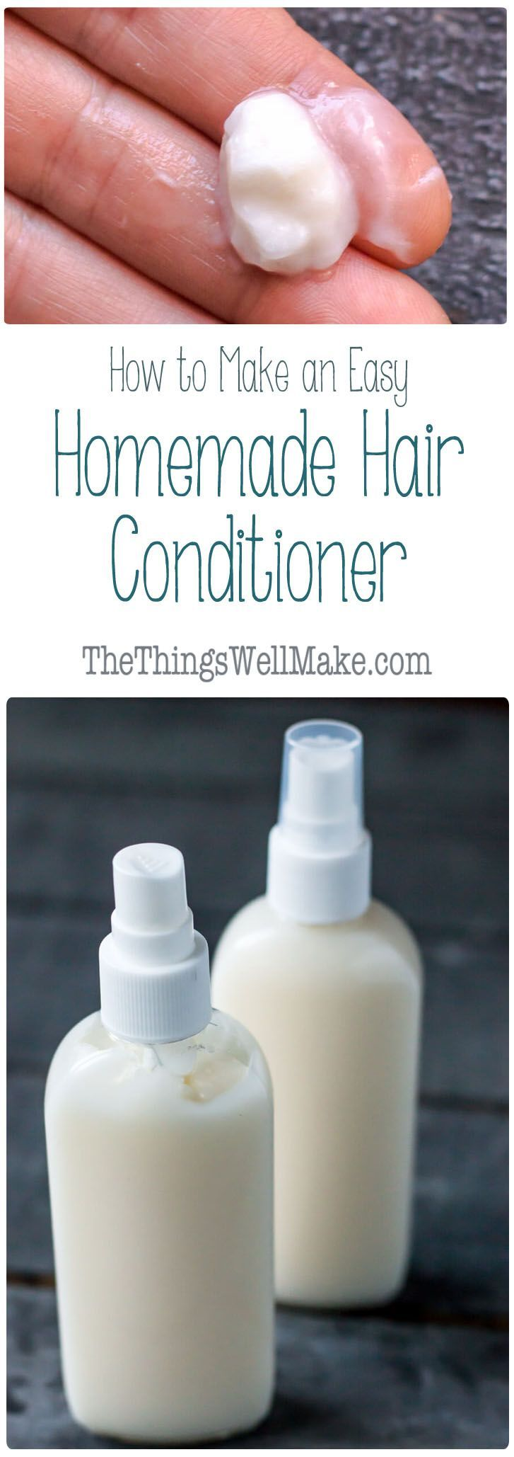 Take control of the ingredients that go into your hair products by making them a...