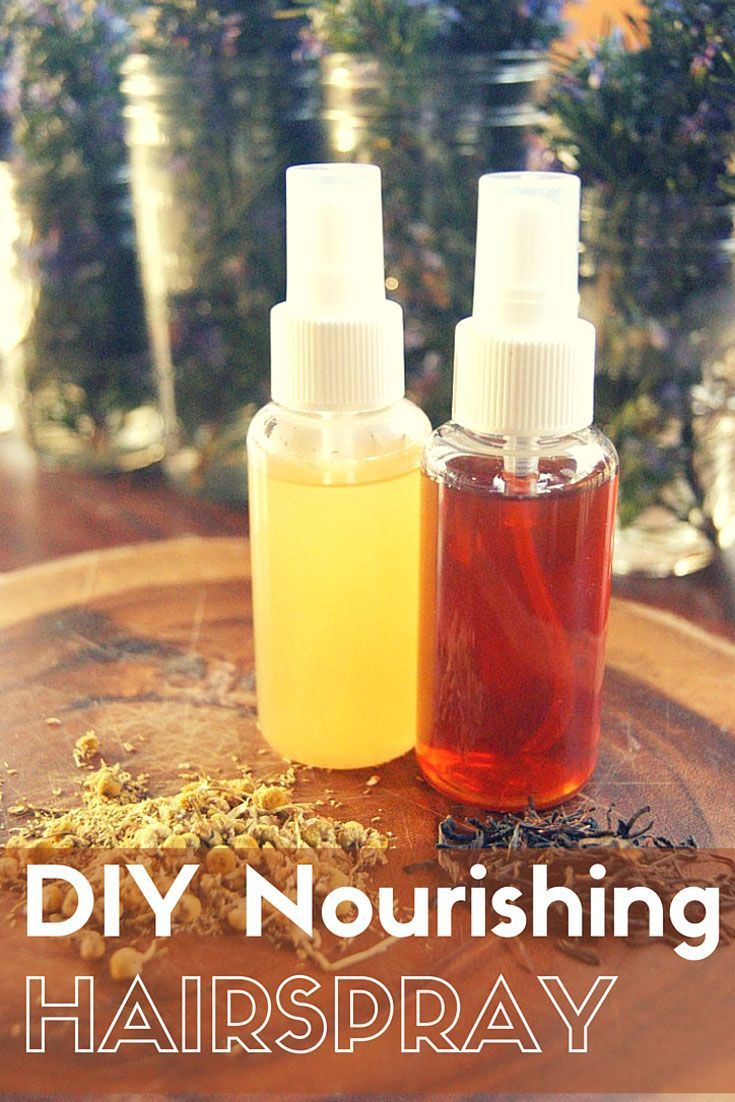 Turns out, making your own DIY Nourshing Hairspray is as easy as making a cup of...