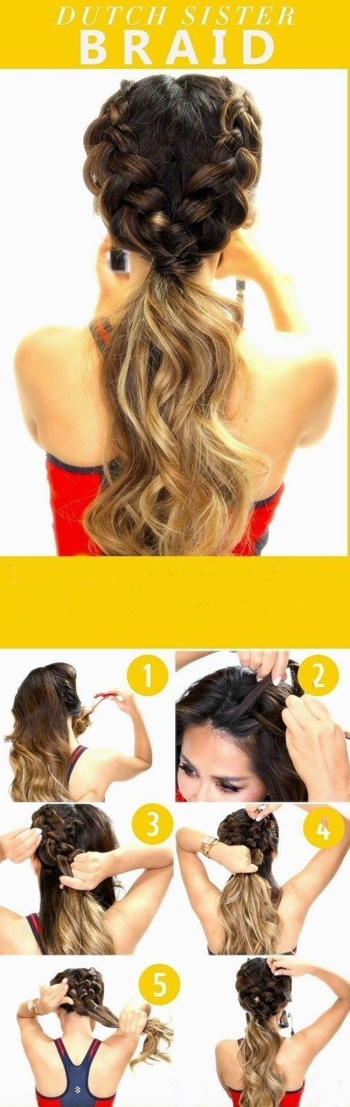 cool 10 Super-easy Trendy hairstyles for school // #Hairstyles #School… More