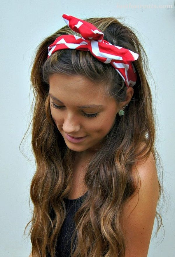 Latest 45 Simple Hairstyles for Girls for School #LongHaircuts