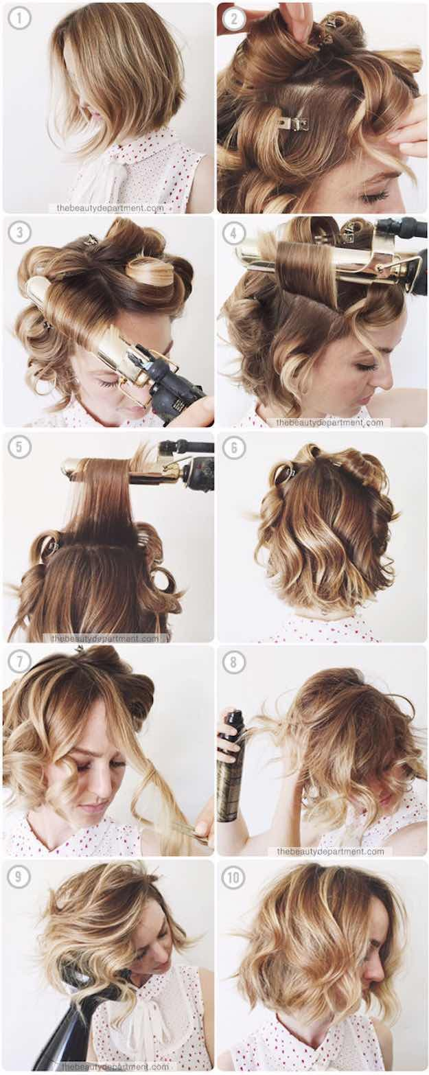 41 Lob Haircut Ideas For Women - SOFTENING UP A WAVY BOB -What is a lob? Step by...
