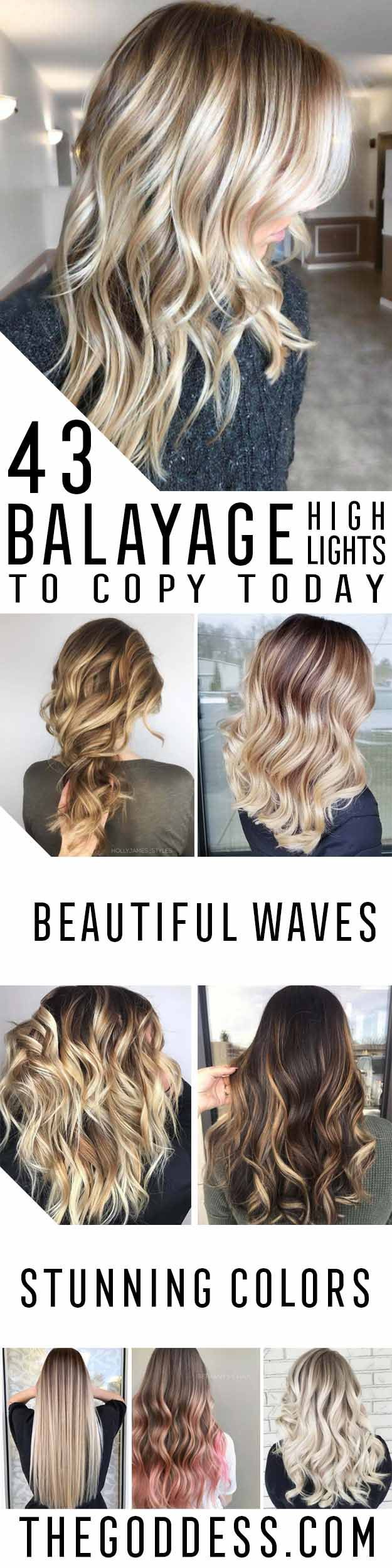Balayage High Lights To Copy Today - Simple, Cute, And Easy Ideas For Blonde Hig...