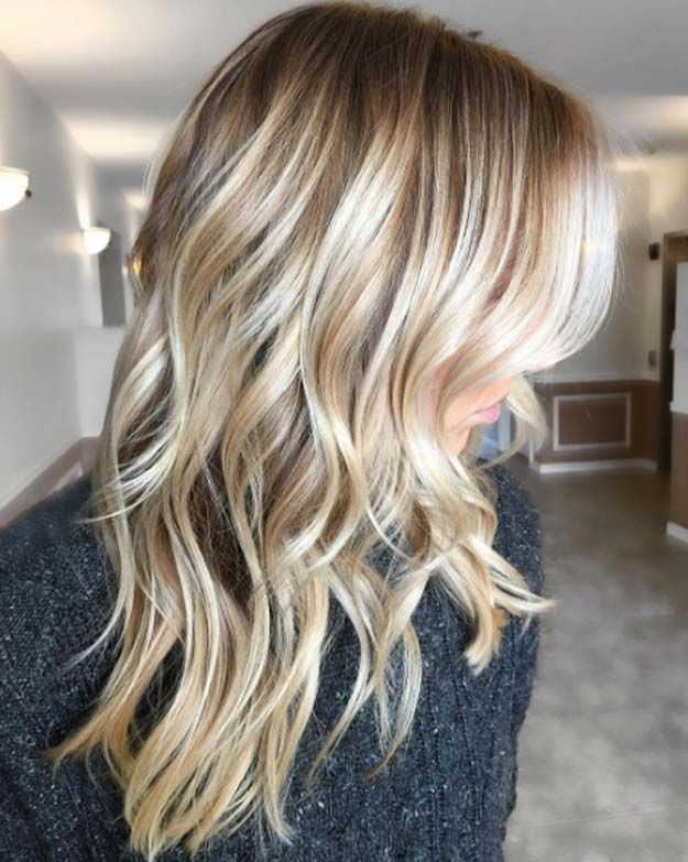 Balayage High Lights To Copy Today - Sunflower Blonde - Simple, Cute, And Easy I...