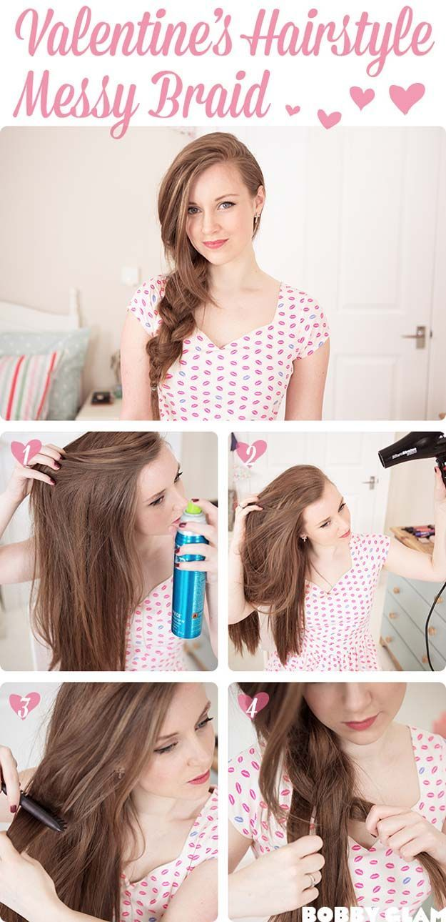 Best Hairstyles for Long Hair - Romantic Hairstyle - Step by Step Tutorials for ...