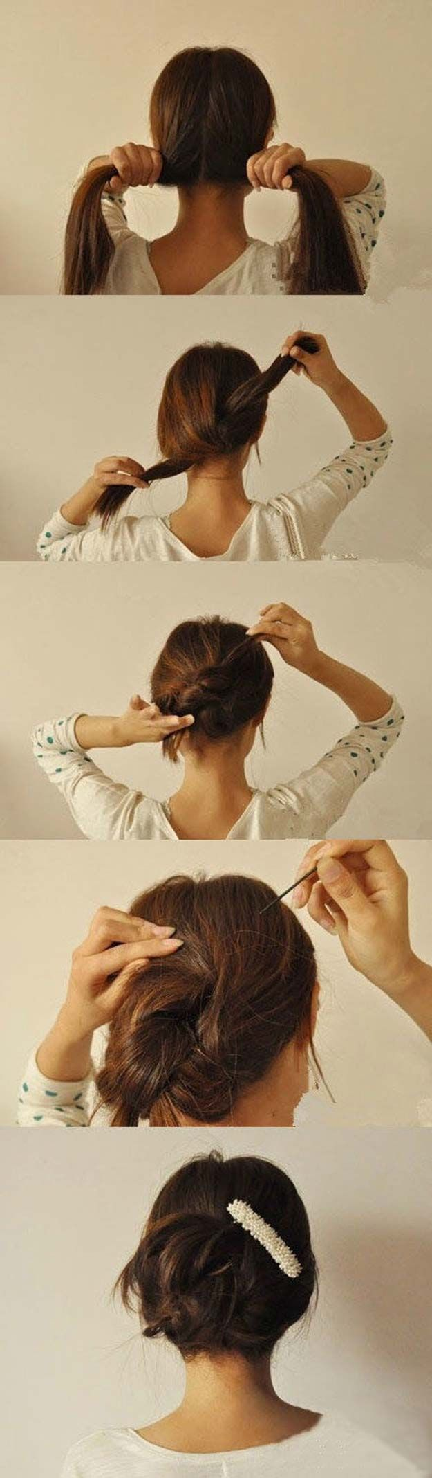 Best Hairstyles for Long Hair - Updo Hairstyle - Step by Step Tutorials for Easy...