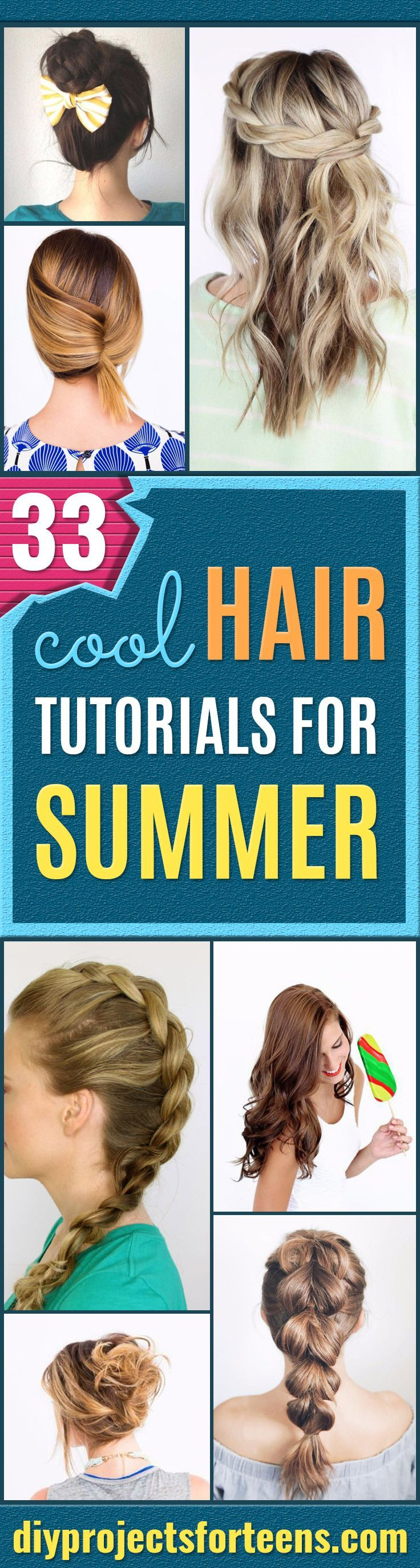 Cool Hairstyles for Teens - Easy Hair Styles for Summer and Quick Looks for Back...