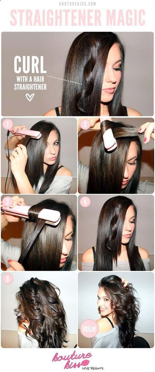 Cool Hairstyles You Can Do With Your Flat Iron - Unexpected Hairstyles You Can P...