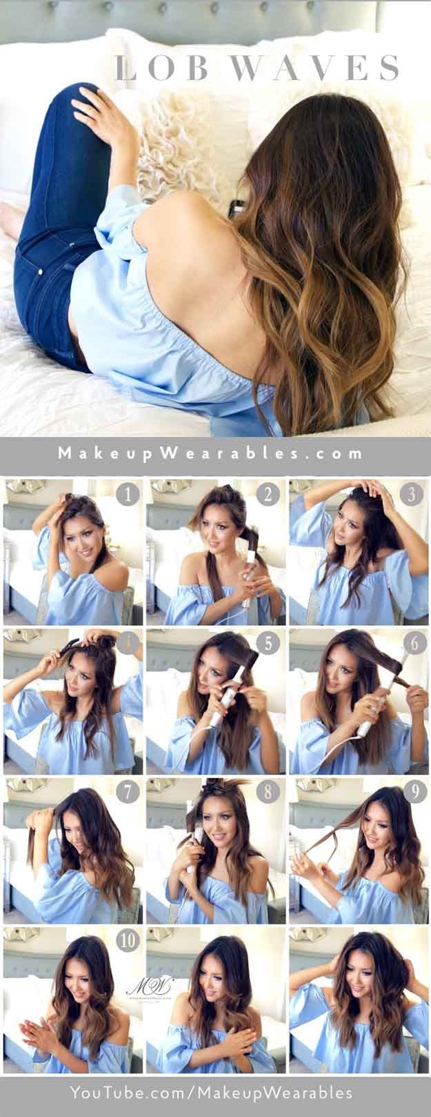 Quick and Easy Hairstyles for Straight Hair - HOW TO SOFTEST LOB FOR LONG HAIRED...