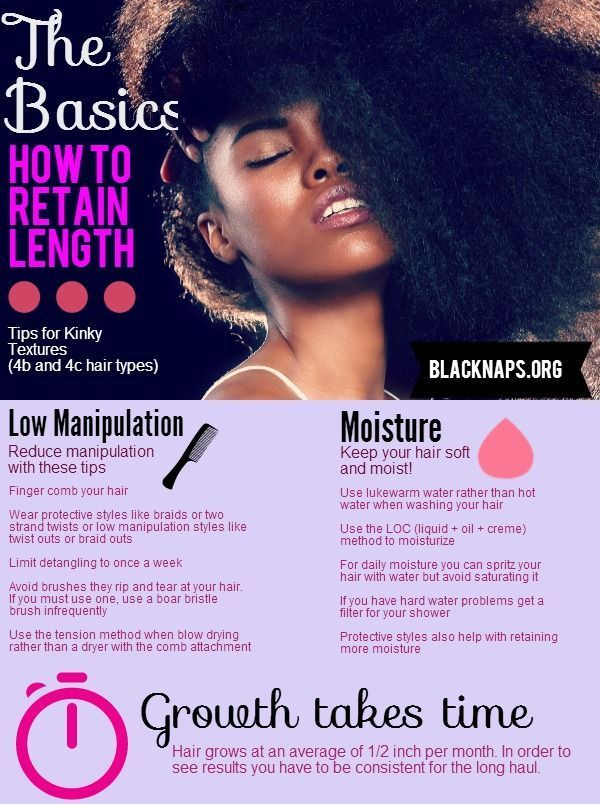 15 Hacks, Tips and Tricks On How To Grow Out Natural Black Hair