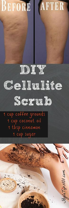 DIY Cellulite Scrub