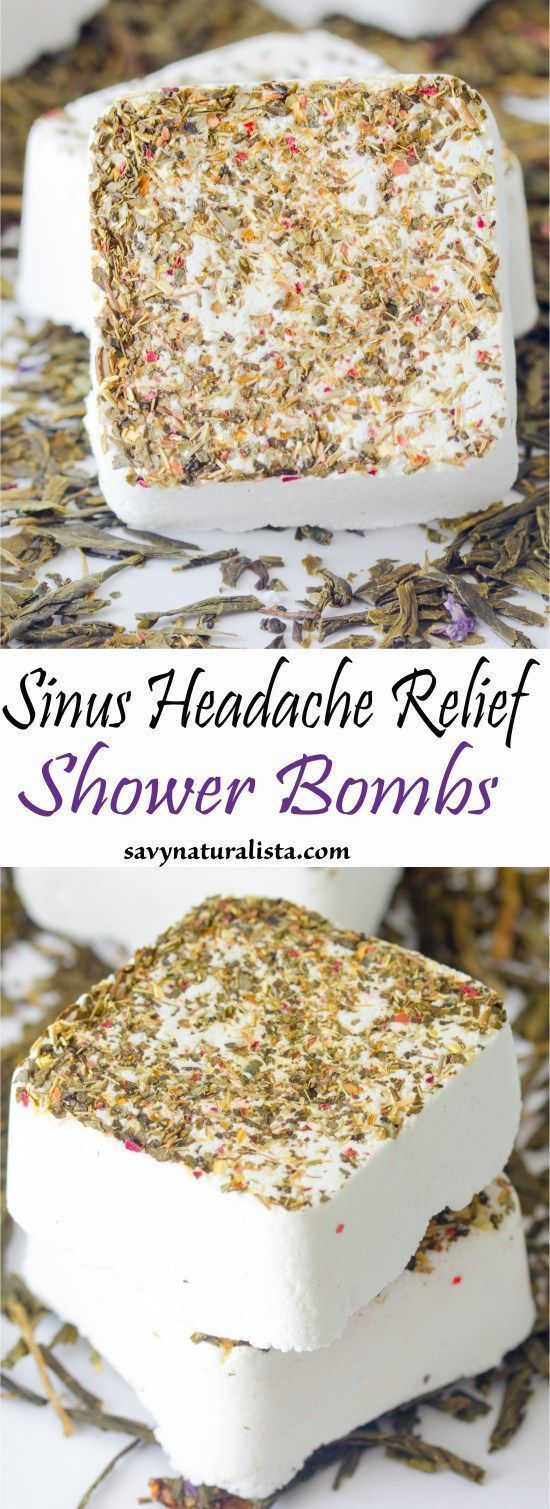 DIY Mask : Natural & DIY Skin Care : Sinus Headache Relief Shower Bombs… | DIY...
