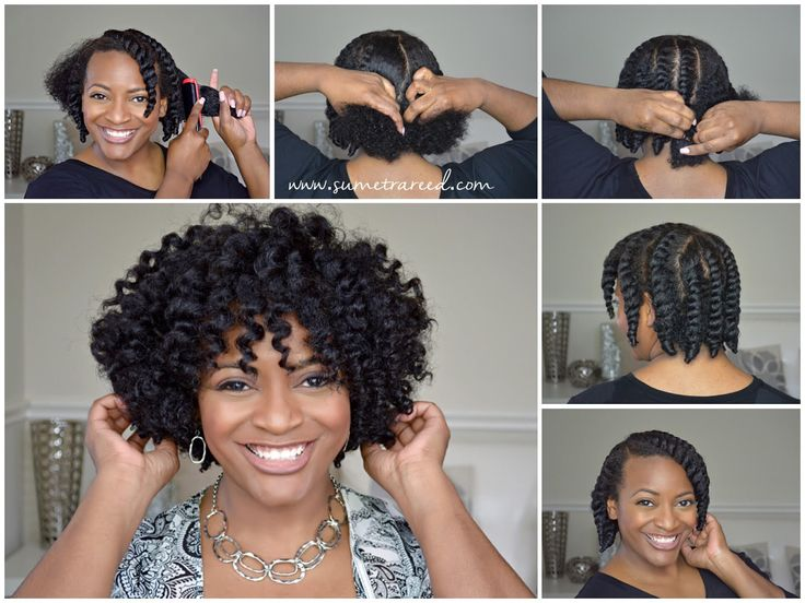 Easy Chunky Flat Twist-Out Tutorial for Natural Hair | Curly Nikki | Natural Hai...