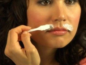 Home remedy to naturally bleach upper lip hair  Shaving is not recommenced on fa...