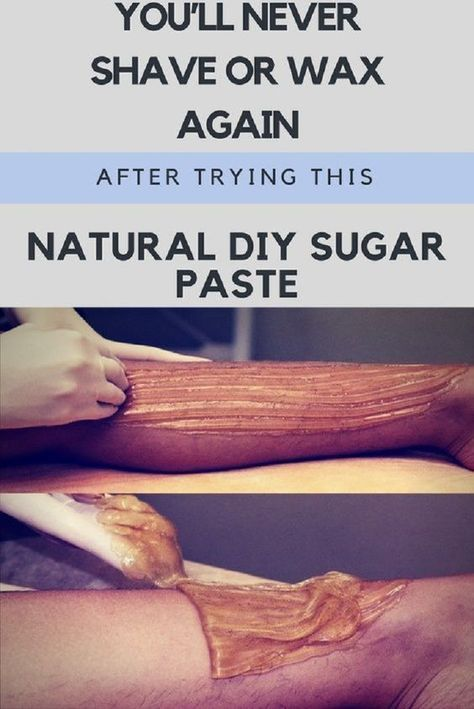Natural DIY Sugar Paste for Waxing - 16 Proven Skin Care Tips and DIYs to Incorp...