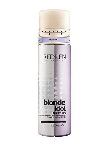 Platinum Blonde Hair Care - Redken Blonde Idol Custom-tone Conditioner in Violet...