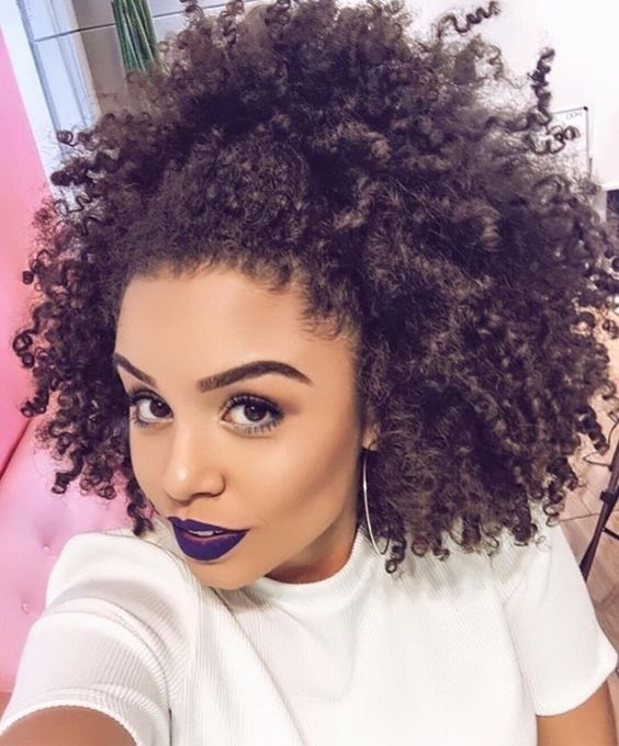These are Pinterest's Top 10 Natural Hair Styles